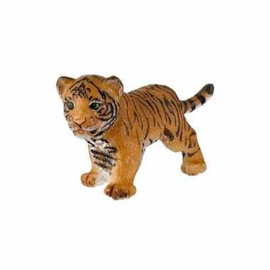 Plastic tijger welpje 3,5 cm