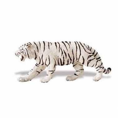 Plastic witte tijger 15 cm 10092124